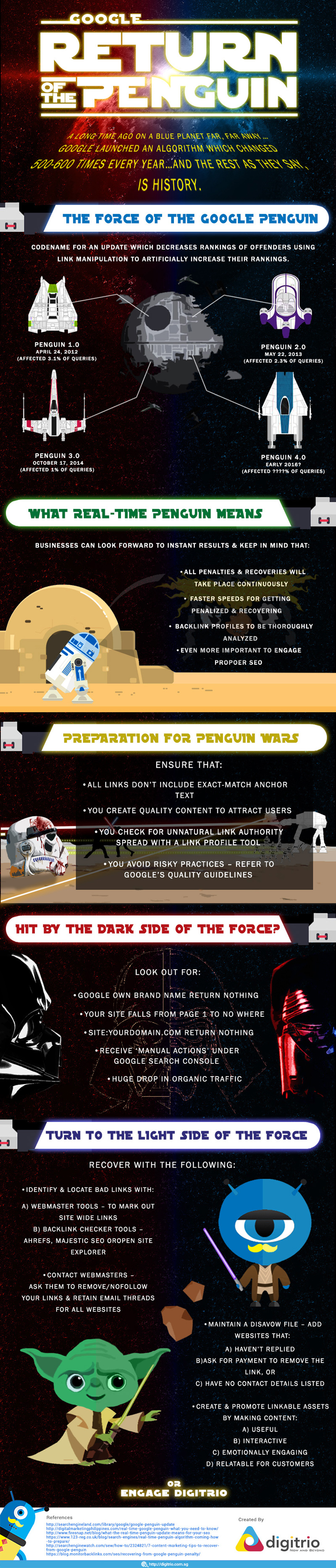 The Return of the Penguin (Real-time)