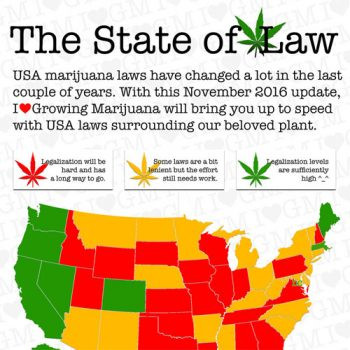 The State of Marijuana Law in the United States