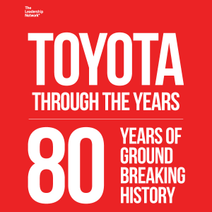 Toyota Through the Years: 80 Ground-Breaking Years of History