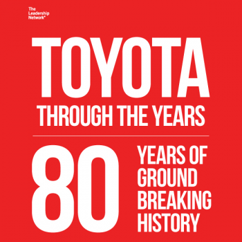 Toyota Through the Years: 80 Ground-Breaking Years of History