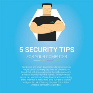 5 Simple Computer Security Tips