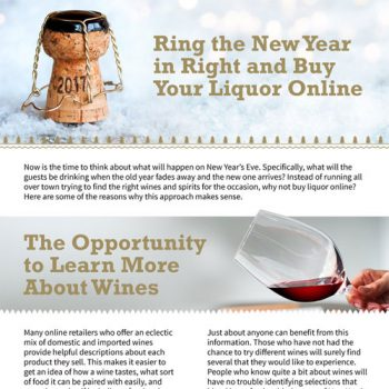 Ring the New Year in Right and Buy Your Liquor Online