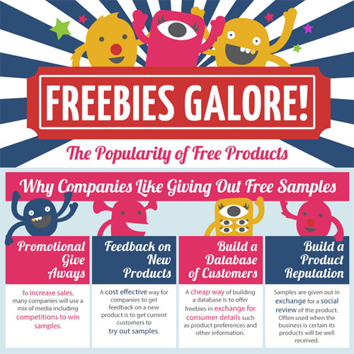 companies that offer freebies