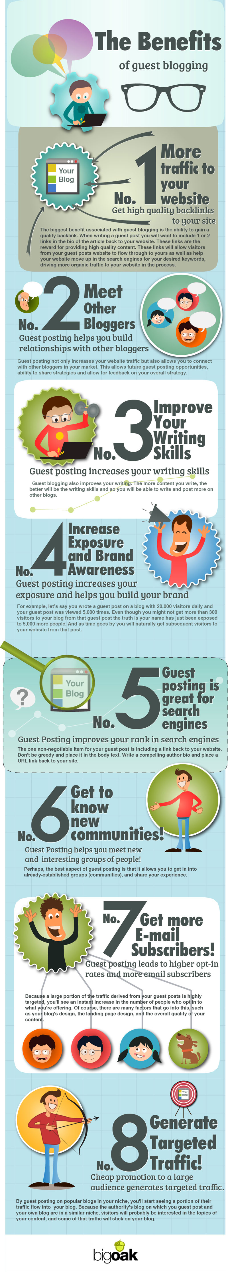 9 Benefits of Guest Blogging for SEO