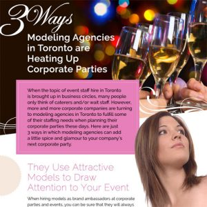 3 Ways Modeling Agencies Are Heating Up Corporate Parties