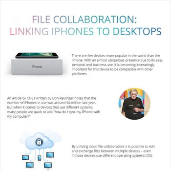 File Collaboration: Linking iPhones to Desktops