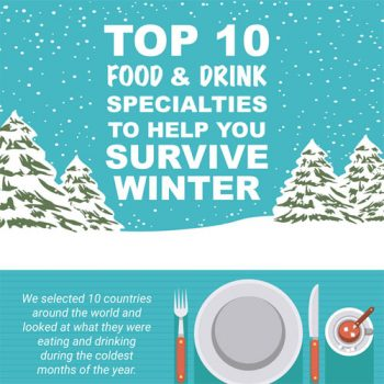 Top 10 Food and Drink Specialties to Help you Survive Winter
