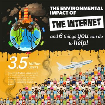 The Environmental Impact of the Internet