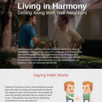 Living in Harmony Getting Along with Your Neighbors