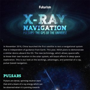 X-Ray Navigation: Pulsars, The GPS of the Universe