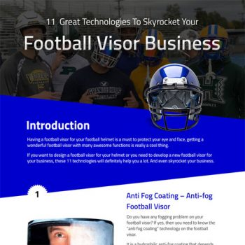 11 Football Visor Technologies