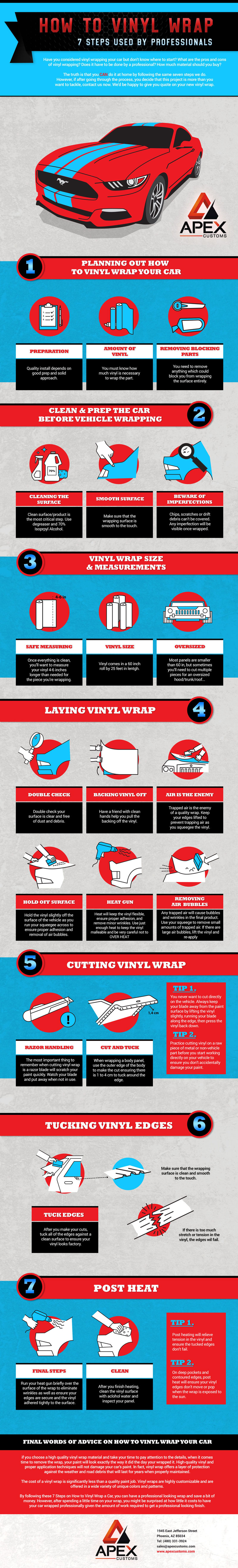 How to Vinyl Wrap: The 7 Steps Used By Professionals