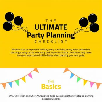 The Ultimate Party Planning Checklist