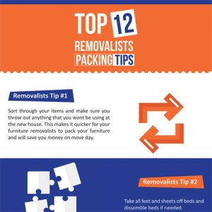 Top 12 Removalists Packing Tips