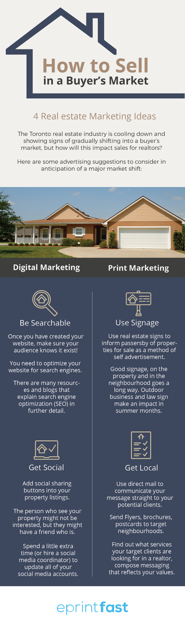How to Sell in a Buyer's Market: Real Estate Marketing Ideas