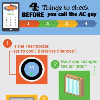 4 Things To Check Before You Call An AC Company