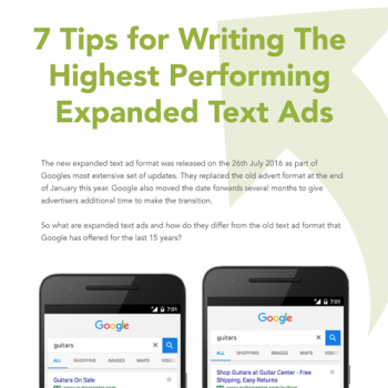 7 Tips for Writing the Highest Performing Text Ads