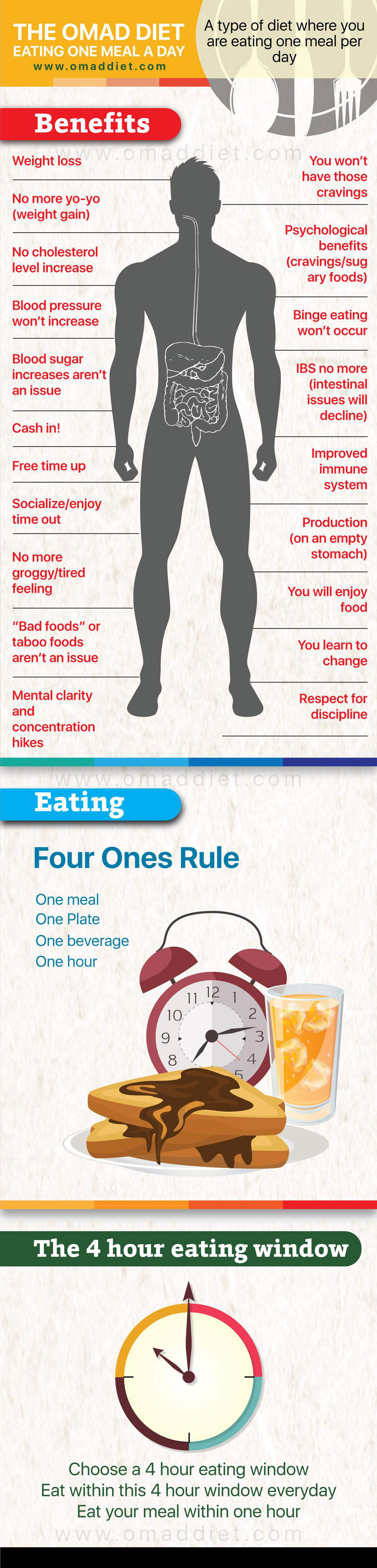 Infographic: The Omad Diet