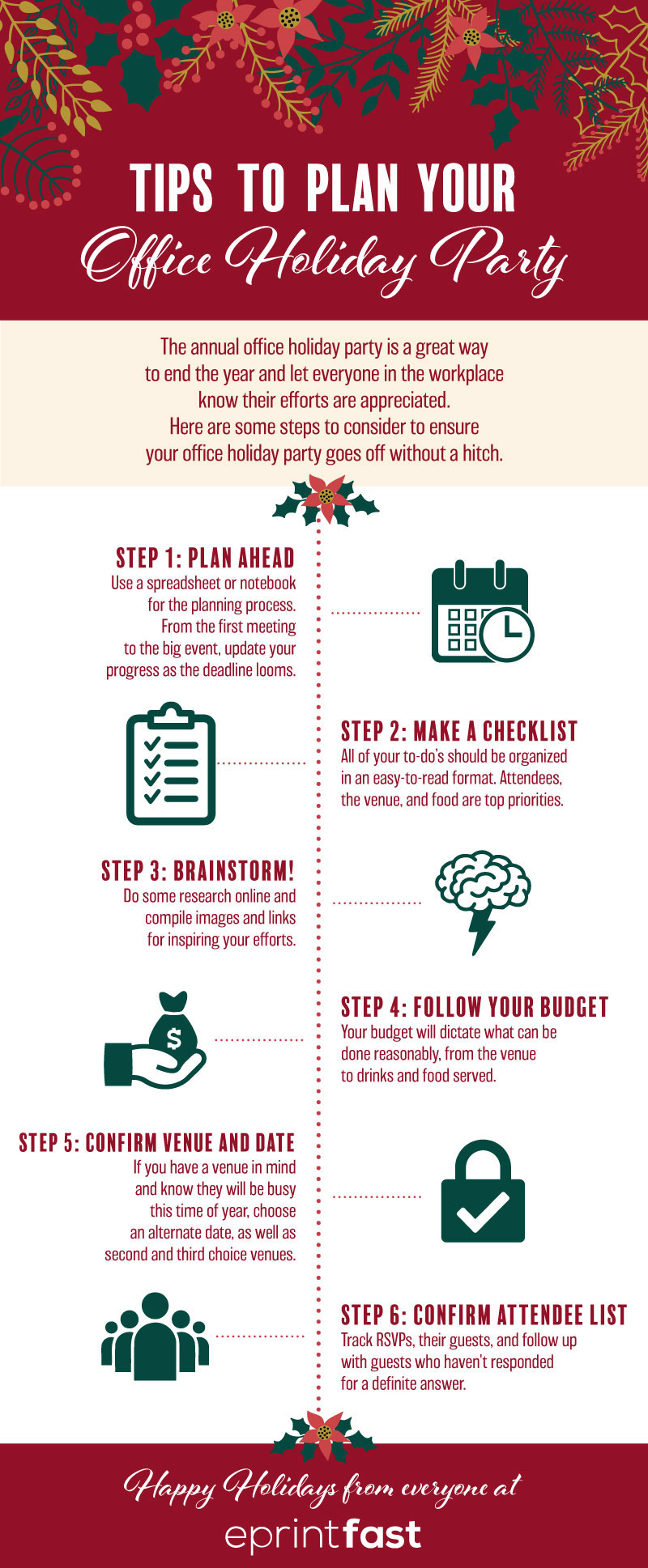 Tips to Plan Your Office Holiday Party