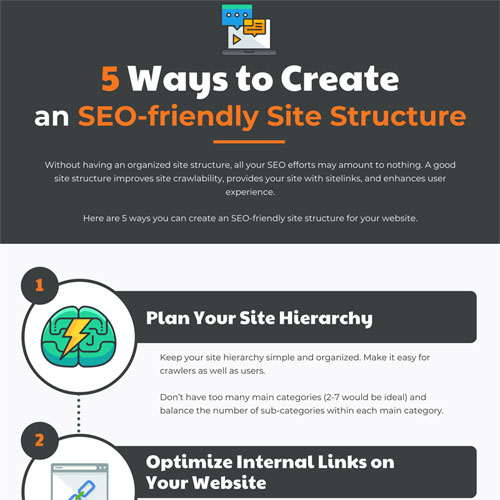 5 Ways to Create an SEO-friendly Site Structure