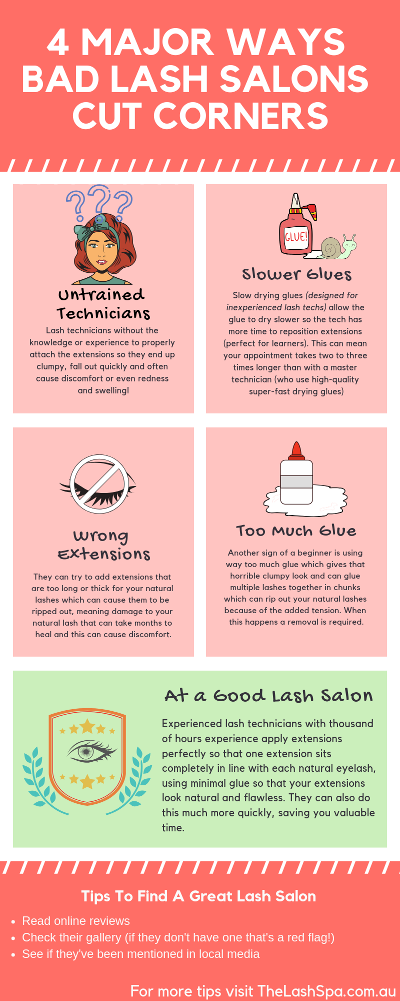 4 Major Ways Bad Lash Salons Cut Corners