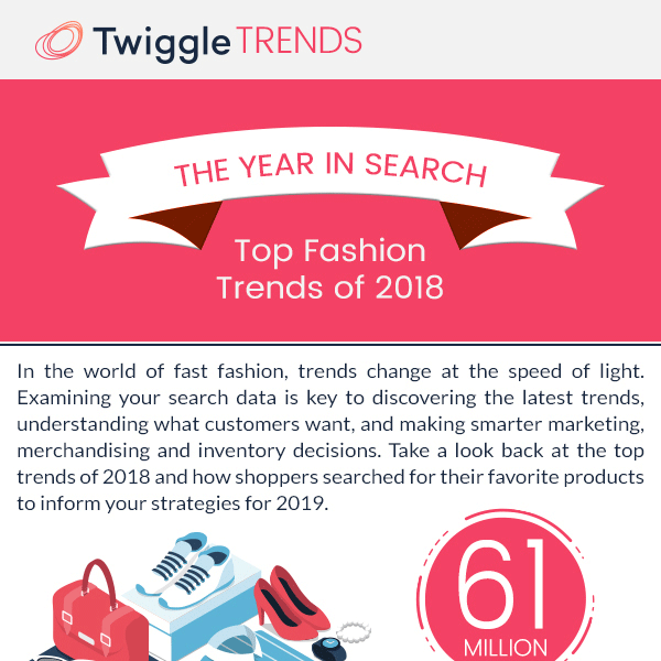 Year in Search: Top Fashion Trends of 2018 - InfographicBee com