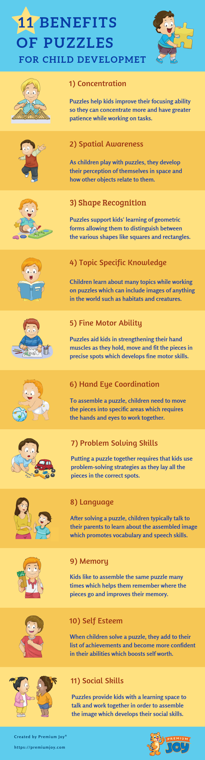 Benefits of Puzzles for Child Development