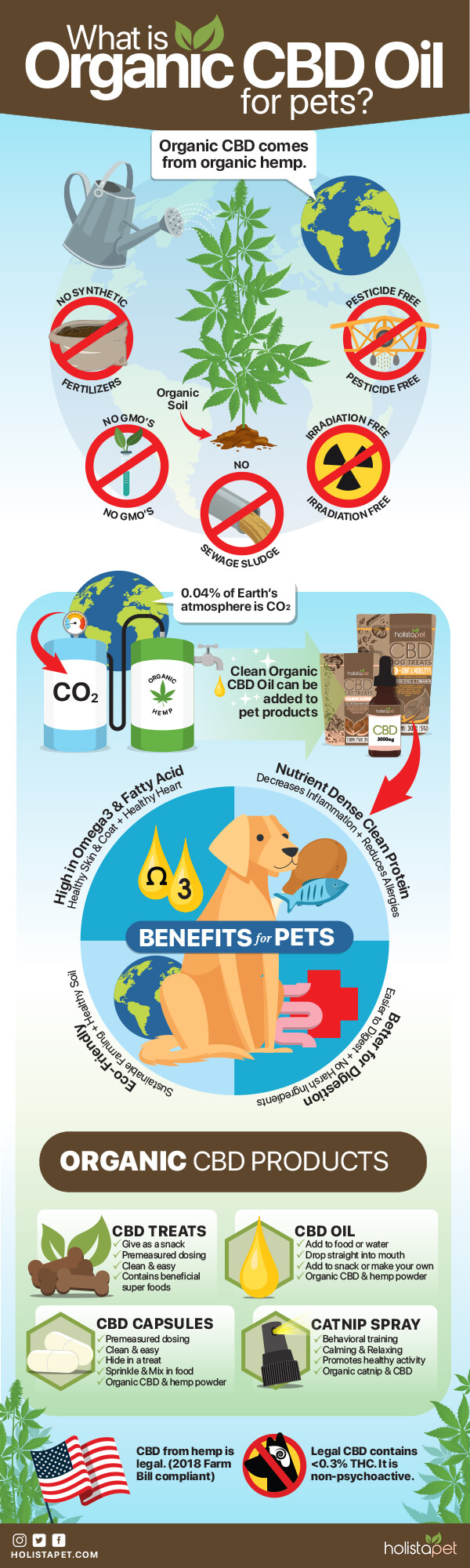 What is Organic CBD Oil for Pets