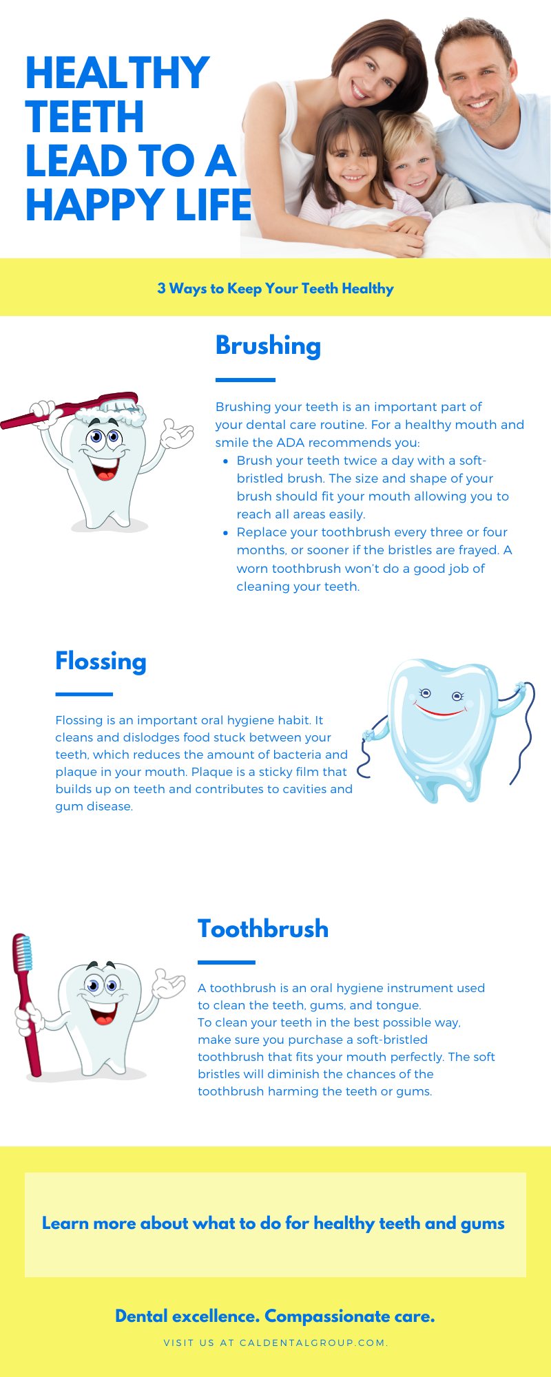 Healthy Teeth Lead to a Happy Life