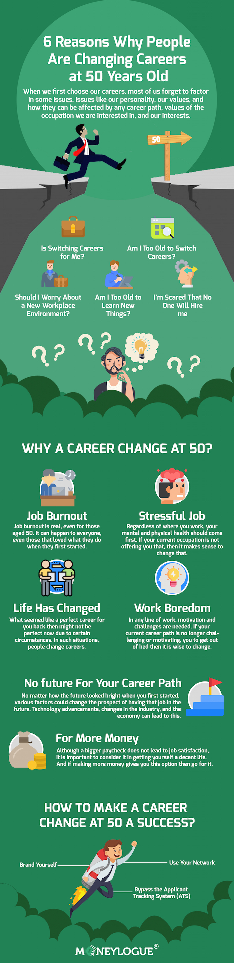 Why Change Career at 50 Years Old