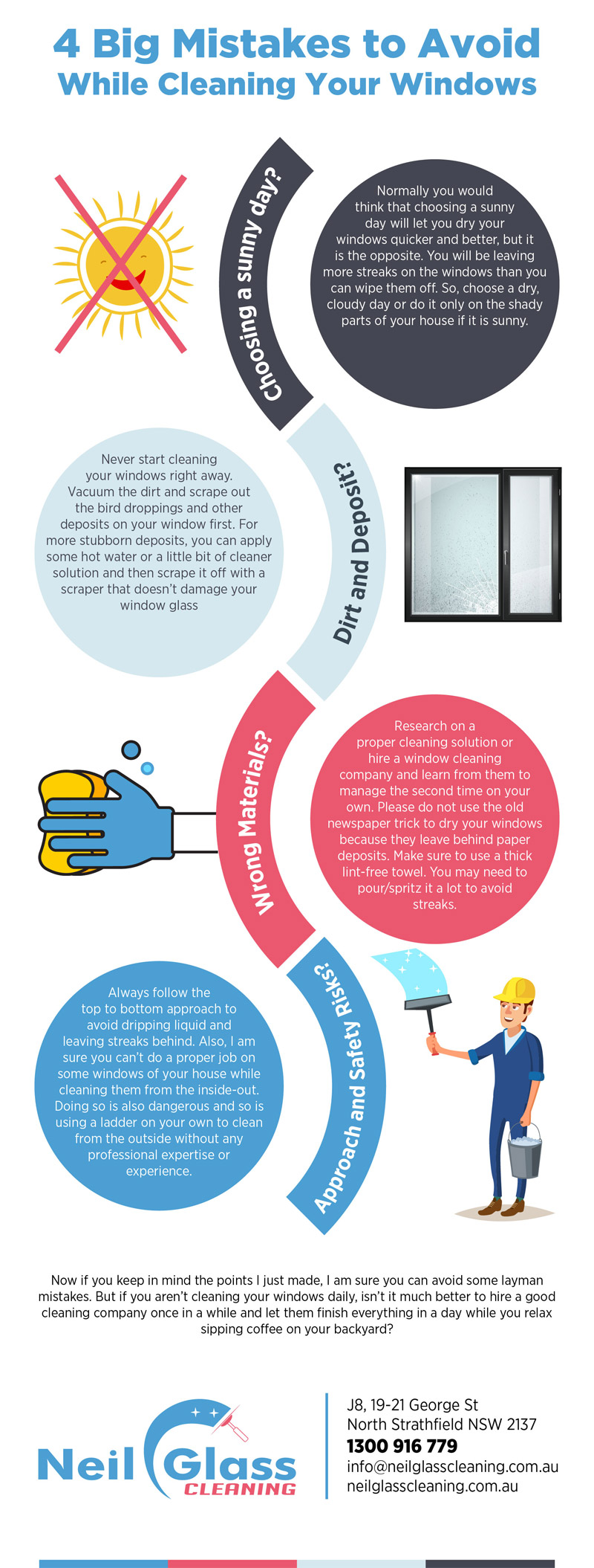 4 Big Mistakes to Avoid While Cleaning Your Windows