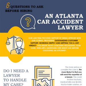 6 Questions to Ask Before Hiring an Atlanta Car Accident Lawyer
