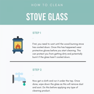 How to Clean Stove Glass