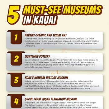 5 Must-See Museums in Kauai