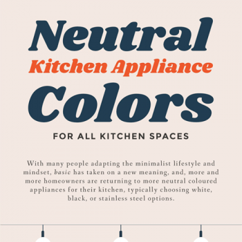 Appliance Colors for a Neutral Kitchen