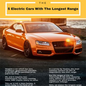 The 5 Electric Cars With The Longest Range
