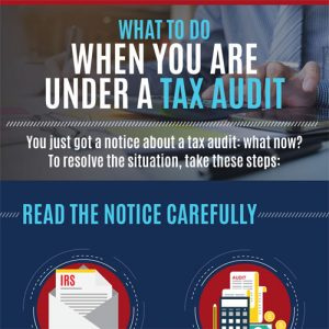 What To Do When You Are Under a Tax Audit