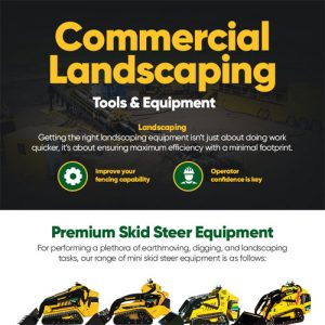 Commercial Landscaping Tools and Equipment