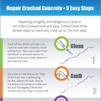 How to Repair Concrete in 3 Easy Steps