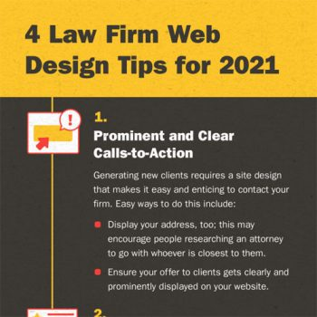 4 Law Firm Web Design Tips for 2021