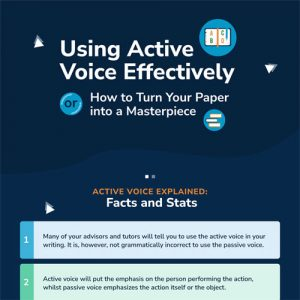 Using Active Voice Effectively or How to Make Your Paper Shine