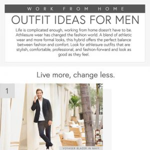 Work From Home Outfit Ideas For Men