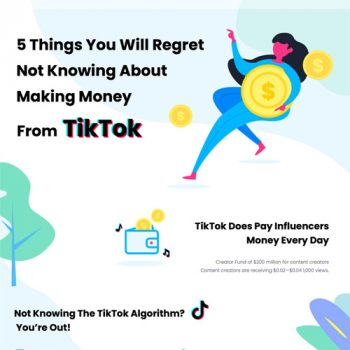 5 Things You Will Regret Not Knowing About Making Money From TikTok