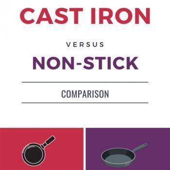 Are non-stick pans safe? Non-stick Vs Cast iron