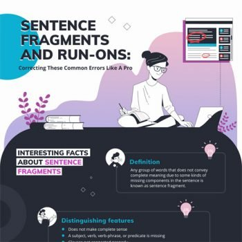 How to Fix Run on Sentence and Fragment Professionally