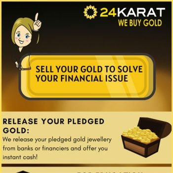 Sell your Gold to Solve your Financial Issues