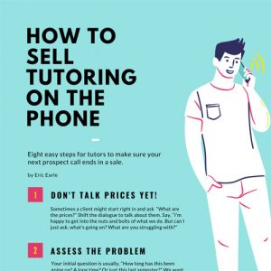 How to Sell Tutoring Over the Phone