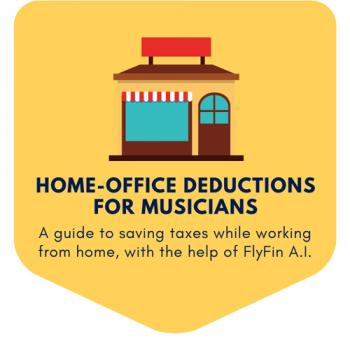 Home Office Deductions for Musicians